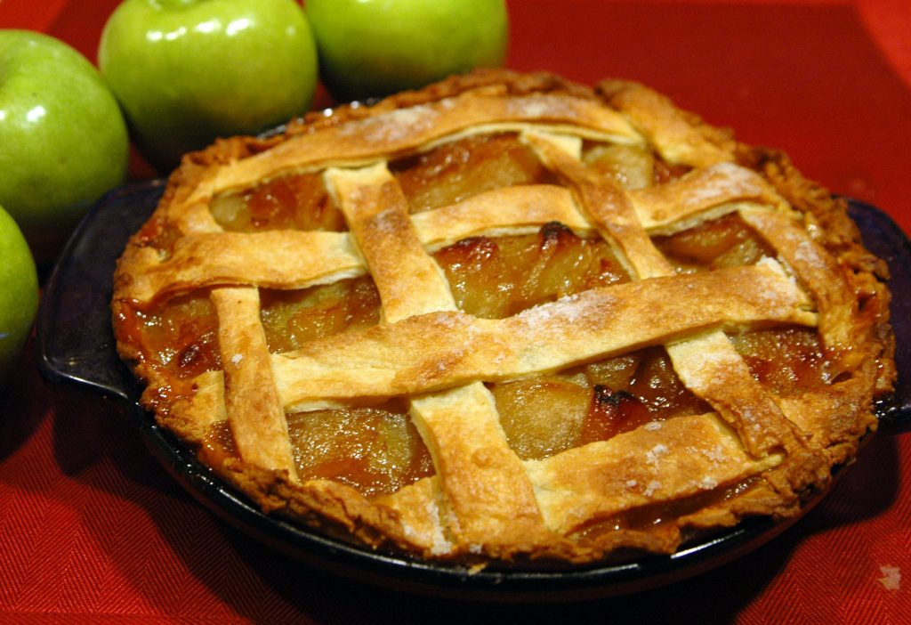 פאי תפוחים וקנאביס, apple pie' cannabis aplle pie