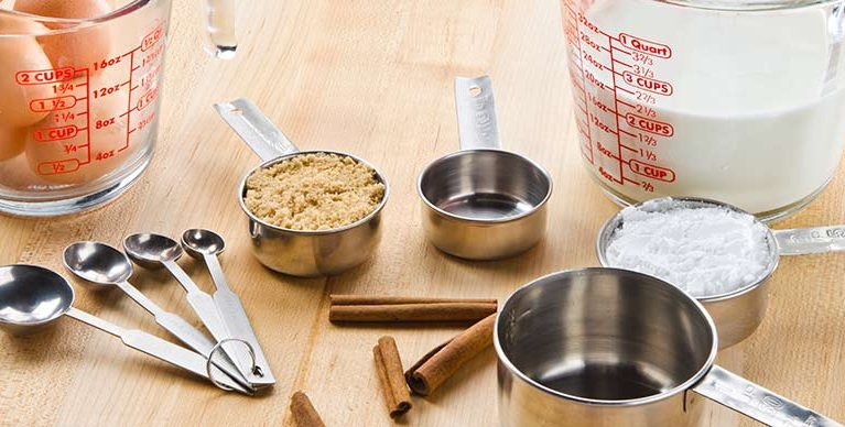 Exact dimensions and quantities - one of the most important elements in the kitchen