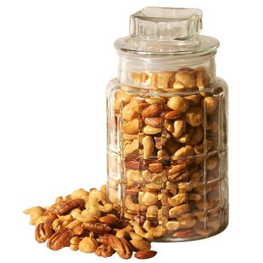 Cup of nuts, almonds or nuts - 85 grams (chopped) or 100 grams (ground)
