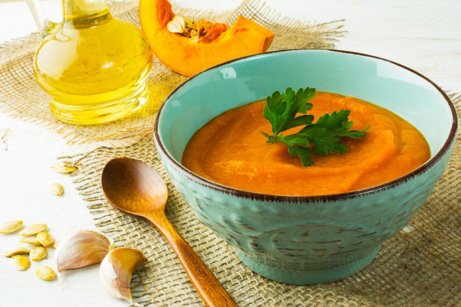 מרק ירקות כתומים, מרק כתום, מרק עם קנאביס