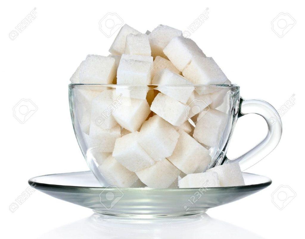 A glass of sugar - 240 grams, a glass of salt - 250 grams