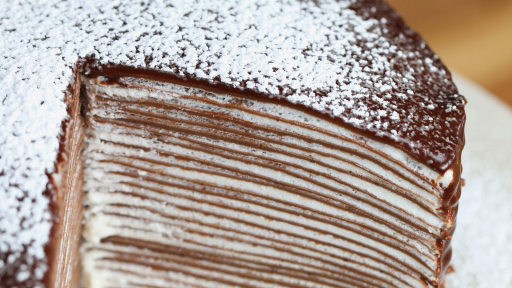 עוגת קרפ שוקולד