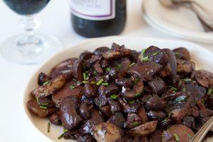 פטריות ביין אדום